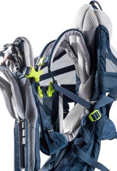 Deuter Kid Comfort Active Child Carrier Backpack Adjustable Midnight